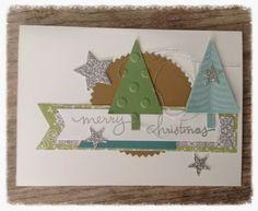 Ingrid's scrapfrutsels: Kerstkaartje - week 18