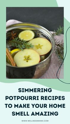 Simmering Potpourri, Potpourri Recipes, Celebrate Good Times, House Smells, Jar Gifts, Natural Cleaning Products, Homemaking, Real Food Recipes, Food To Make