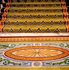 Carpet, Hotel Hydepark entrance