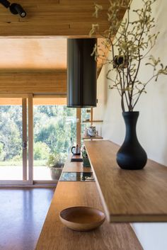 Buxton Rise Plywood Ceiling, Ceiling Panels, Timber Windows, Timber Beams, Roof Design, House Design, Laminated Veneer Lumber, Polished Plaster, Australian Architecture