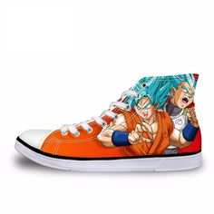 Custom Dragon Ball Z Shoes - Free Shipping Worldwide