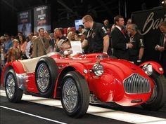 1952 Allard J2X race car, red