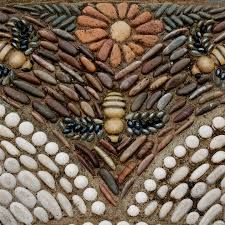 Image result for how to make a pebble stone mosaic