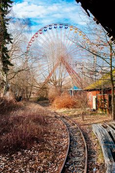 There's A Surreal Cold War-Era Amusement Park Decaying On The Outskirts Of…