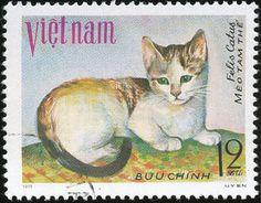 Vietnam 1979 Cat Stamps