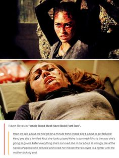 Raven Reyes in Blood Must Have Blood pt 2