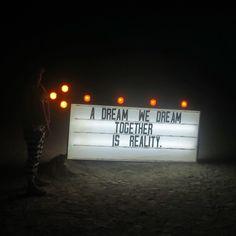 Believe in it