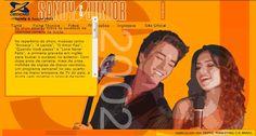Folder do Site Oficial da dupla na época da Turnê de 2002