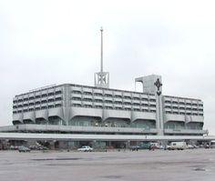 Russia, Leningrad, sea terminal, 1982