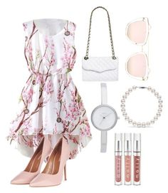 """""""Untitled #4"""" by farisah-anindita on Polyvore featuring Topshop, Rebecca Minkoff, Quay and DKNY"""