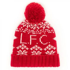 LFC Mens Retro Knit Beanie | Liverpool FC Official Store Knitting Patterns Free, Free Pattern, Minion Baby, Knitted Hats, Crochet Hats, Crochet Humor, Daughters Of The King, Liverpool Fc, Knit Beanie