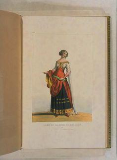 Costumes historiques de ville ou de théâtre et travestissemens - Historical Costumes of Town or Theater and Fancy Dress - Achille Devéria - Page 64