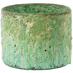 Stoneware cylinder by Morten Løbner Espersen