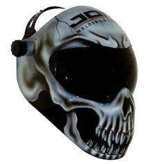 Custom Airbrushed Welding Helmet Airbrushing Drawings