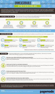 Infographic: Social Media – Unmeasurable Success?