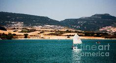 Kid Sailing on a Lake - Weston Westmoreland