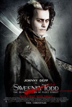 Sweeney Todd:  The Demon Barber of Fleet Street.  2007.  Could equally work for Dark Shadows.