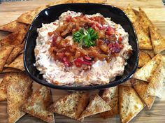 Caramelized Onion and Bacon Dip | Peace Love and Low Carb