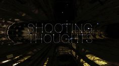 """""""Shooting Thoughts"""" is an interactive projection where people generate a constellation of stars by sending their thoughts with a mobile device. Connected…"""