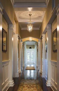 Passage View - Traditional - Hall - Providence - Burgin Lambert Architects