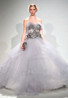 Marchesa lilac gown
