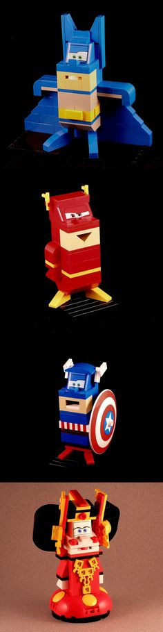 Lego Cars-tuned characters #funny