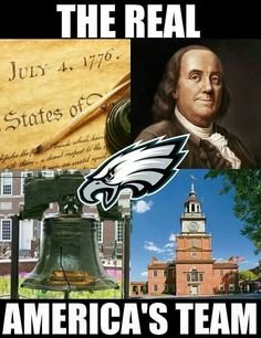 The Real America's team #Eagles