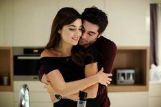 Hayat and Murat Romatic Wallpaper Romantic Hug, Romantic Couples, Cute Couples, Hayat And Murat, Donia, Hande Ercel, Turkish Beauty, Turkish Actors, Girls Image