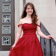 Sweetheart Prom Dress w/ Gathered Bodice by StitchPrincess on Etsy, $398.00