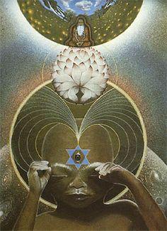 The Third Eye by Pieter Dirk Torensma Native American Quotes, Native American History, Sacred Geometry Art, Astral Projection, Shape Art, Chakra Meditation, Visionary Art, Wedding Art, Third Eye