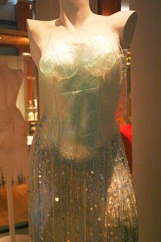 Stitchophrenia: Friday Eye Candy: Glass Dresses by Diana Dias-Leao