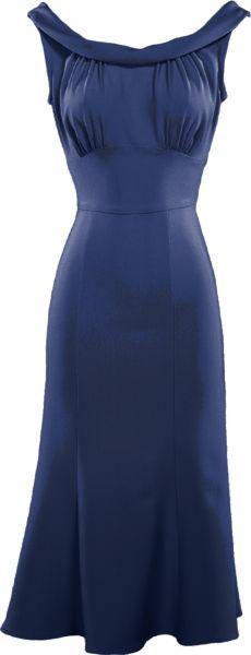Stop Staring! Calista dress in navy blue Vintage Outfits, Vintage Dresses, Retro Fashion, Vintage Fashion, Womens Fashion, Beautiful Outfits, Cute Outfits, Look Formal, Vintage Mode