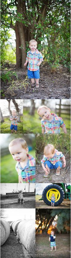boy at the farm- Alexandra Feild Photography toddler boy photo session, two year old