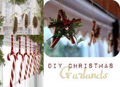 Cute Christmas ideas for garland
