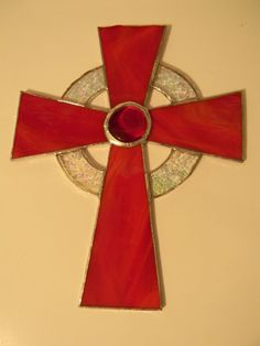 Items similar to Suncatcher / Wall Decor Cross on Etsy