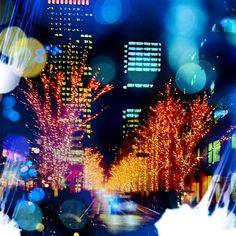 Tokyo by night @tontoco-#cameranapp #cameran
