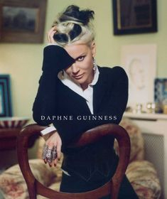 #WANTlist: Daphne Guinness - poetry and beauty are never appreciated enough @TheRealDaphne
