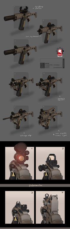 rmory Studios, Weapon Design