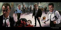 "Art inspired by ""Reservoir Dogs."""