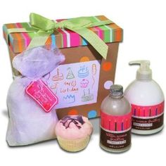 Butter Cream Birthday Gift Basket Baskets Great Gifts Box