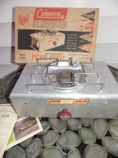 Vintage Coleman Cooler Camping Coleman Camping And