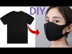 how to make medical face mask Handmade Medical Mask Tutorial Easy Face Masks, Diy Face Mask, Diy Couture Foulard, Crochet Faces, Fashion Mask, Diy Mask, Hair A, Red Hair, Sewing Patterns Free