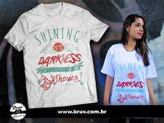 Camiseta exclusiva Bruv Store da música My Lighthouse da banda Rend Collective.
