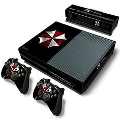 FriendlyTomato Xbox One Console and Controller Skin Set  Umbrella Zombie Videogame  Xbox One Vinyl * Read more  at the image link.Note:It is affiliate link to Amazon.