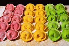 Цветные пельмени рецепт – основные блюда. «Афиша-Еда»