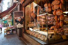 Bologna is renowned for its cuisine, and for good reasons! Take a tour through the medieval open-air food market for a unique foodie experience!