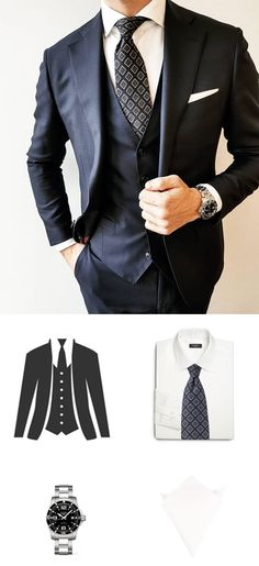 How To Accessorize A Three Piece Suit
