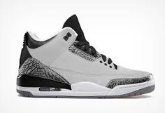 New Jordan Retro 3 Wolf Grey Hot Sale http://www.theblueretros.com