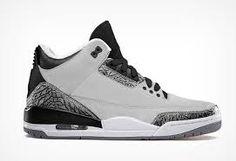 New Jordan Retro 3 Wolf Grey Hot Sale http://www.theblueretros.com