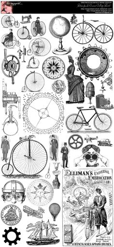Steampunk Curios College Sheet by Beinspyred.deviantart.com on @deviantART